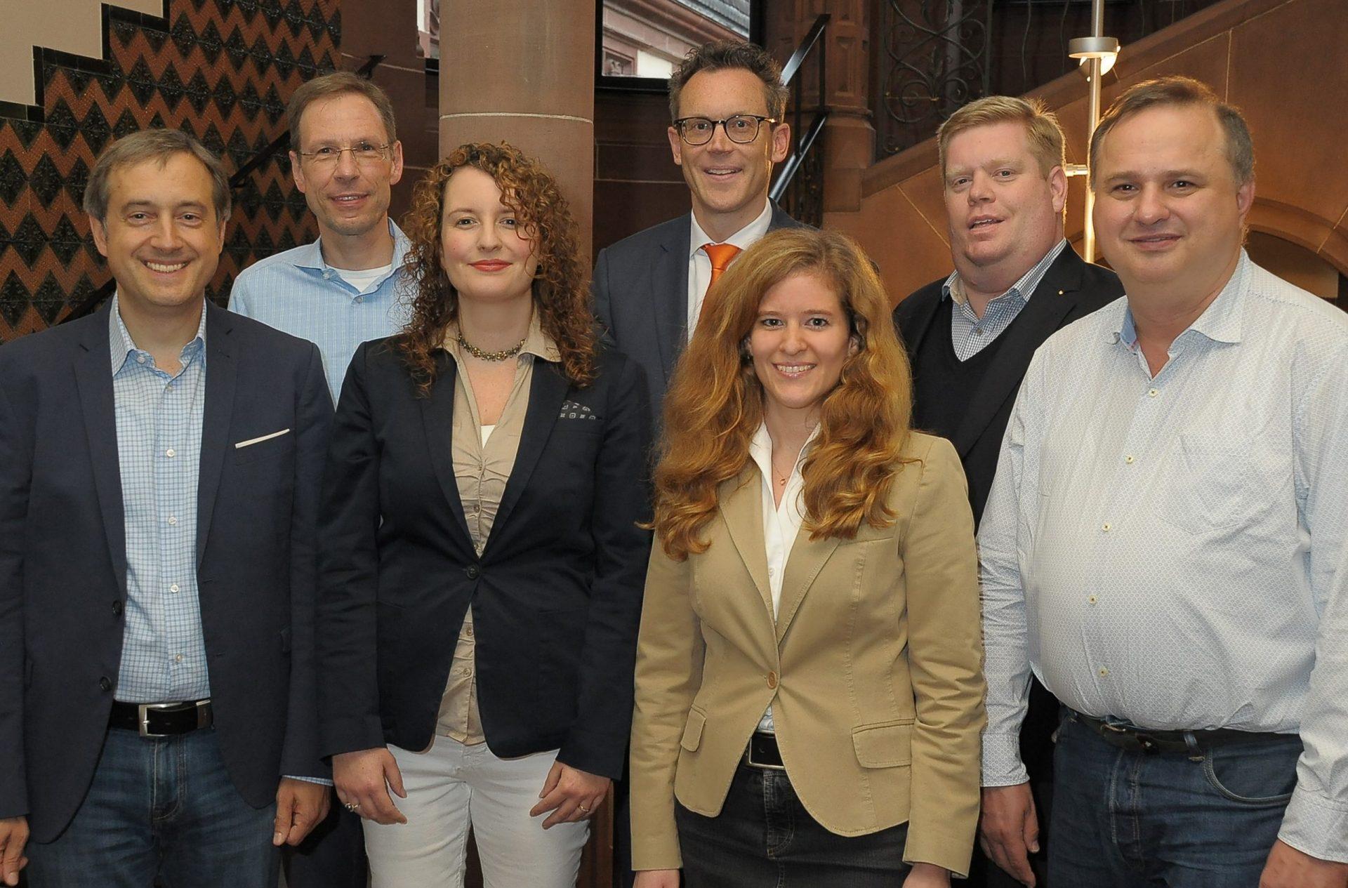 Mitarbeiter Geschäftsstelle CDU-Fraktion Frankfurt am Main