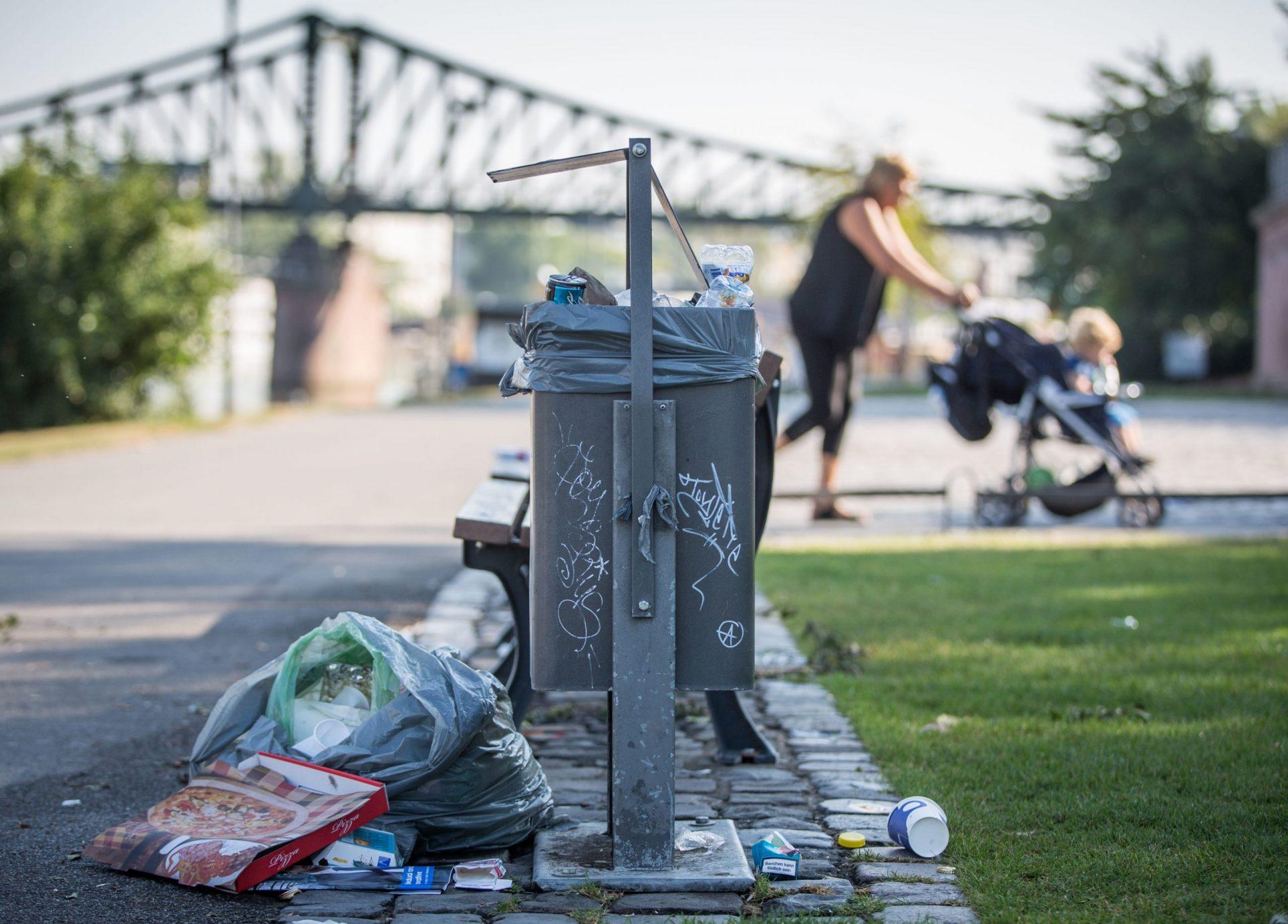 Müll Frankfurt