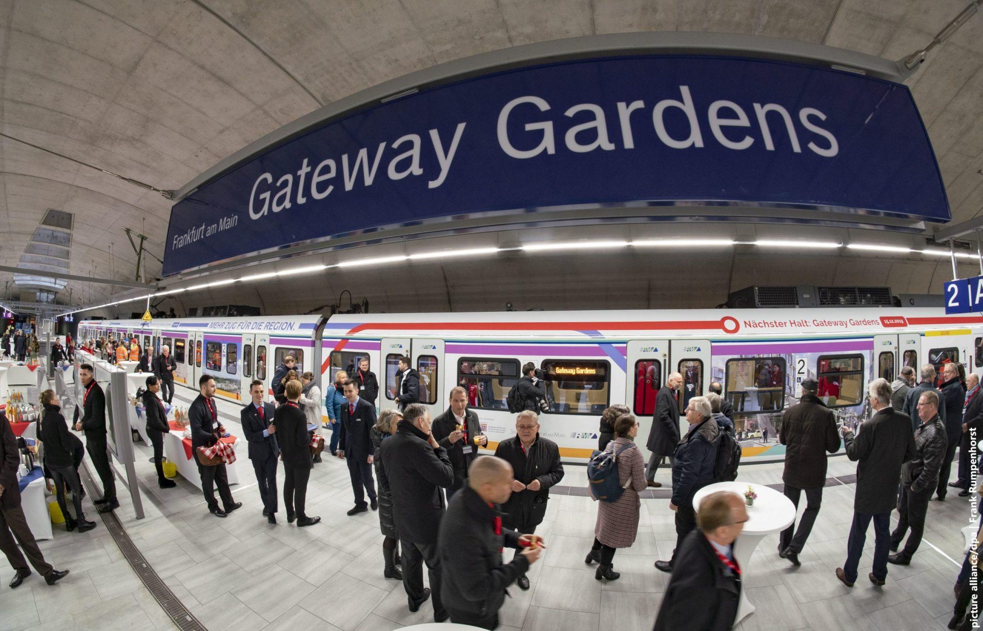 Haltestelle Gateway gardens