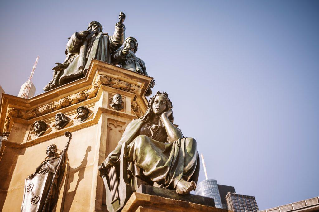 Gutenberg-Denkmal in Frankfurt am Main