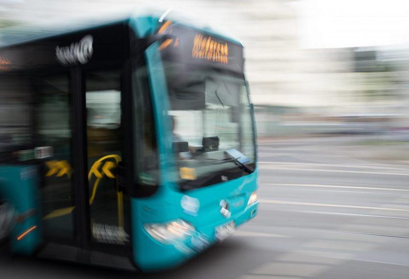 xmhx, Reise, Architektur, 61er Bus in der Mörfelder Landstraße | Verwendung weltweit
