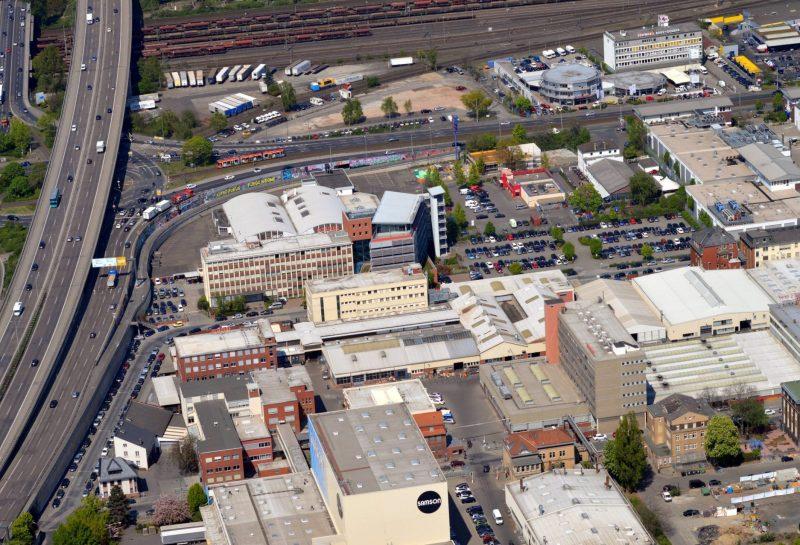 Firmengelände der Samson AG in Frankfurt am Main im Bundesland Hessen