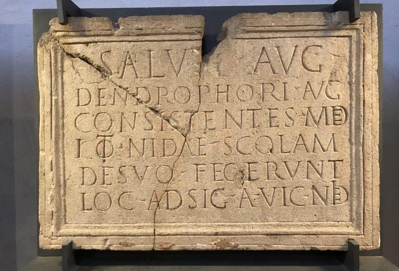 Römisches Artefakt