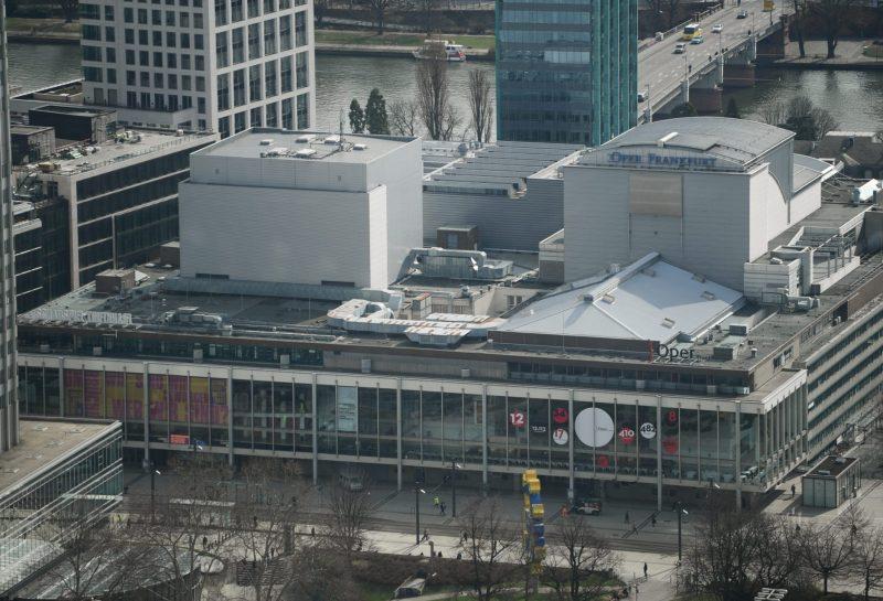 Schauspielhaus Frankfurt am Main Vogelperspektive