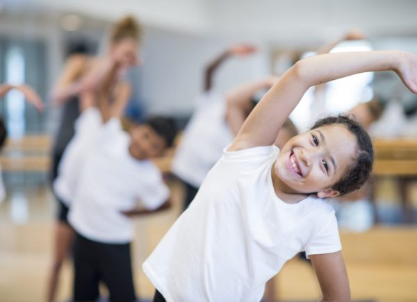 Kinder machen Fitness