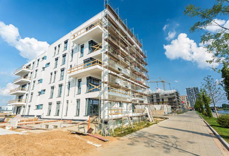 Neue Wohnungen entstehen